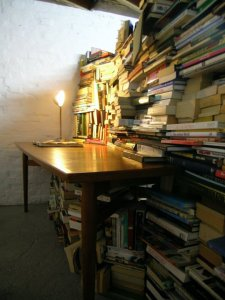 Books in Limbo at Tank Gallery at the Ladywell Tavern