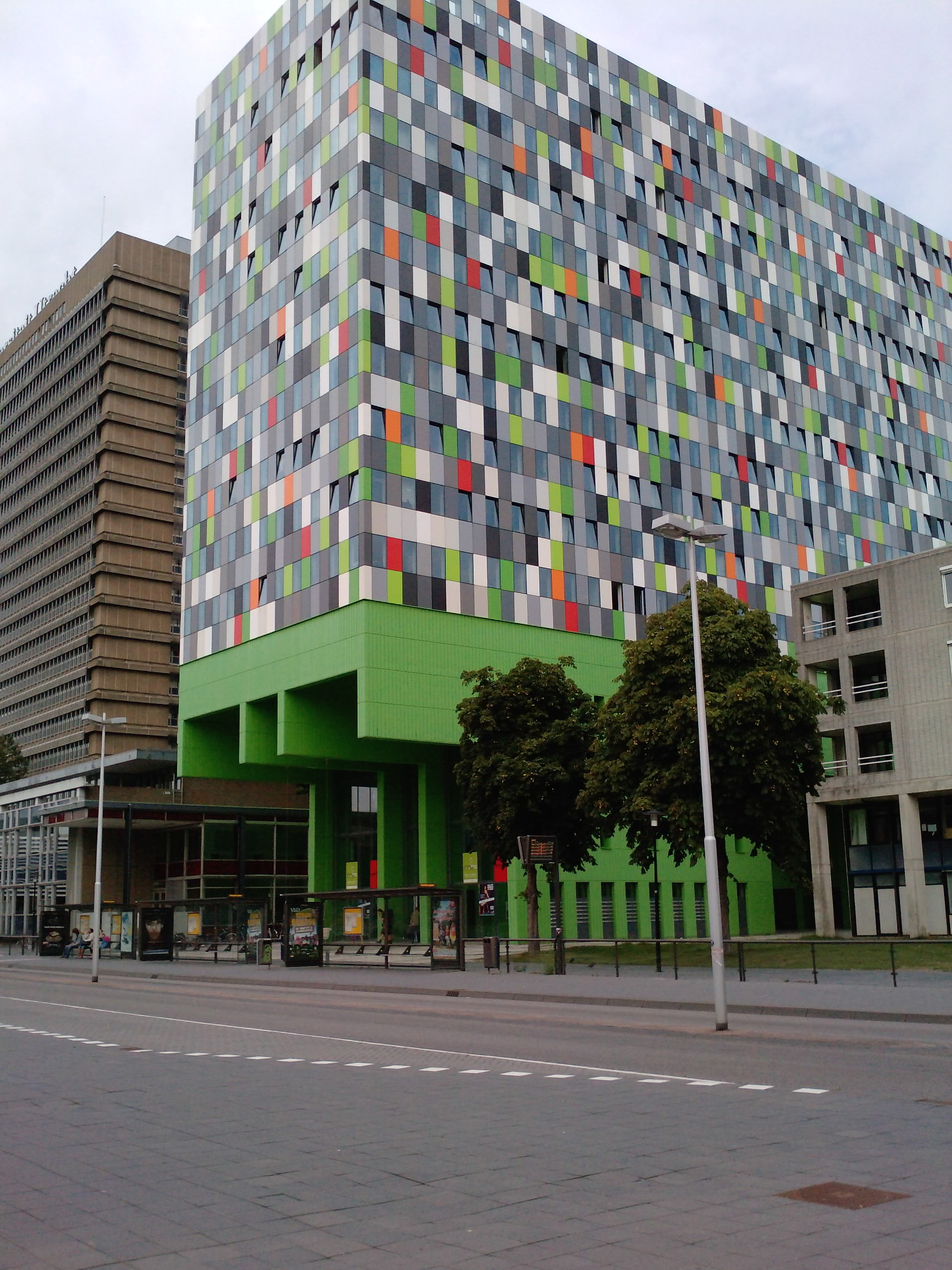 Colorful Building at u of