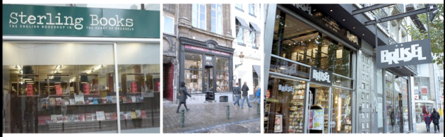 Bookshops in Brussels