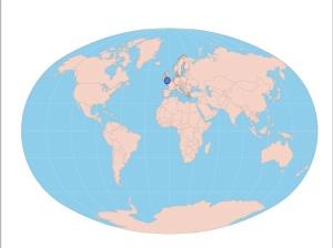 Worldmap-Surrey