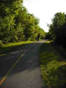 Bike Path where I run