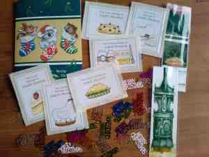 Cards and goodies from Shelleyrae