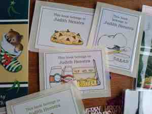 Book plates from Shelleyrae