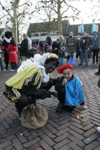 Zwarte Piet with Child