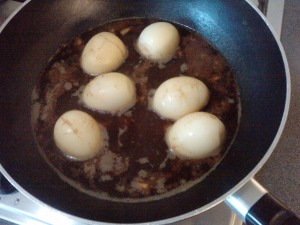 Eggs in the Pan