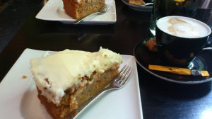 Deliciously moist carrot cake