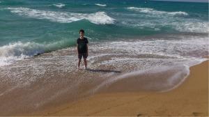 My Son at the Beach