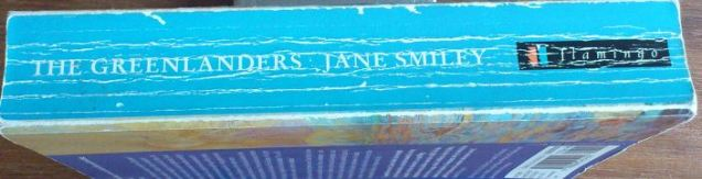The Greenlanders by Jane Smiley (spine)